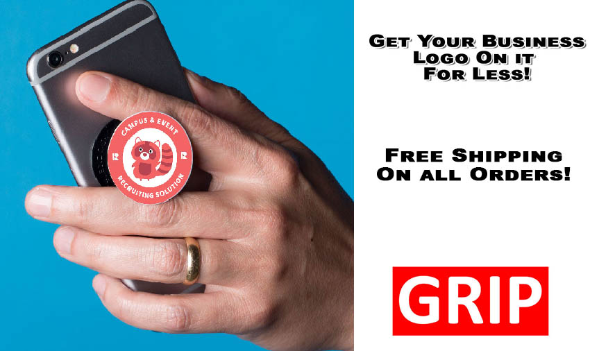 Get your business logo on a pop phone socket