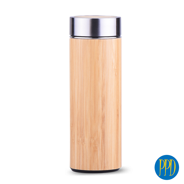 Bamboo Thermal Bottle