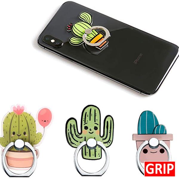 Custom acrylic ring phone holder