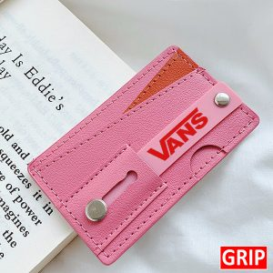 monet wallet kickstand phone stand and credit card holder Pink for logo