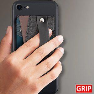 monet wallet kickstand phone stand and credit card holder black